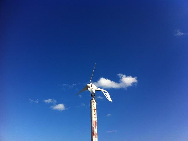 空006(青空と風見鶏)