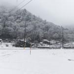 風景020(雪の山里)