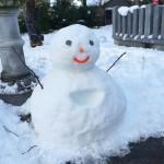 風景032(雪だるま)
