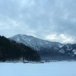 風景034(雪の里山)