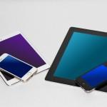 仕事027(新旧iPad とiPhone)