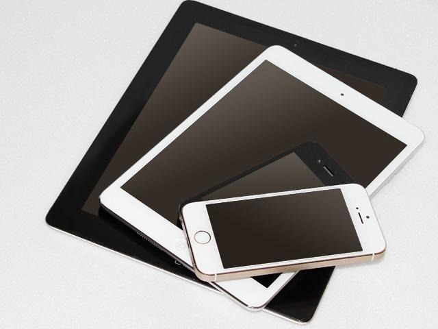 仕事029(新旧iPad とiPhone)