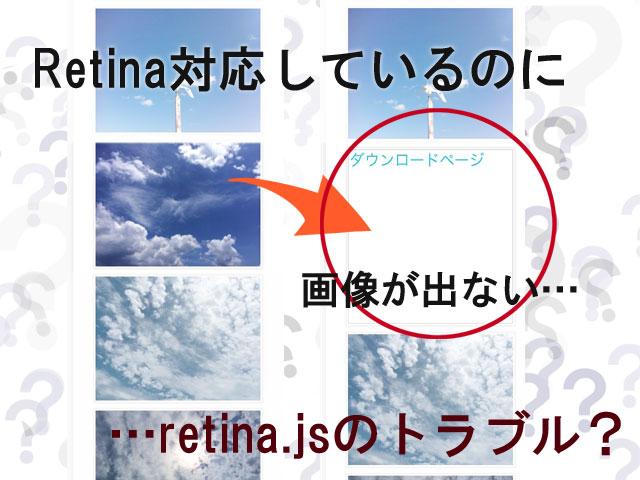 Retinaディスプレイで確認すると画像が表示しないトラブルの対応