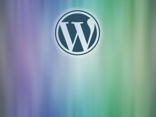 素材068(CG40)WordPressロゴW