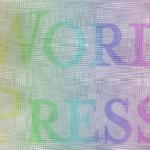 素材069(CG41)WORDPRESSレインボーロゴ
