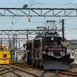 鉄道13(えちぜん鉄道のラッセル車)