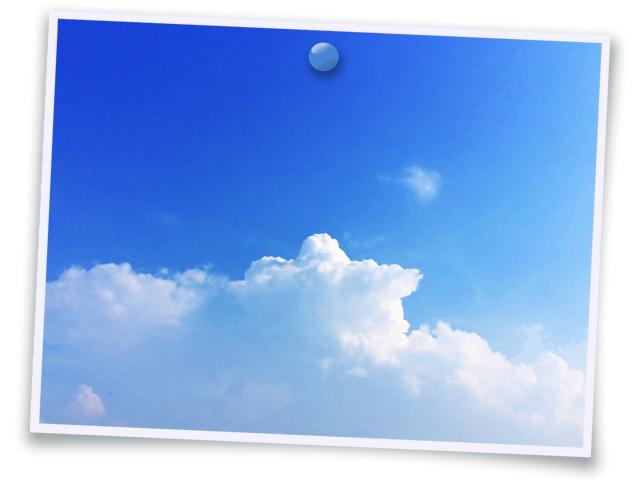 空025(夏の雲/フォト風)
