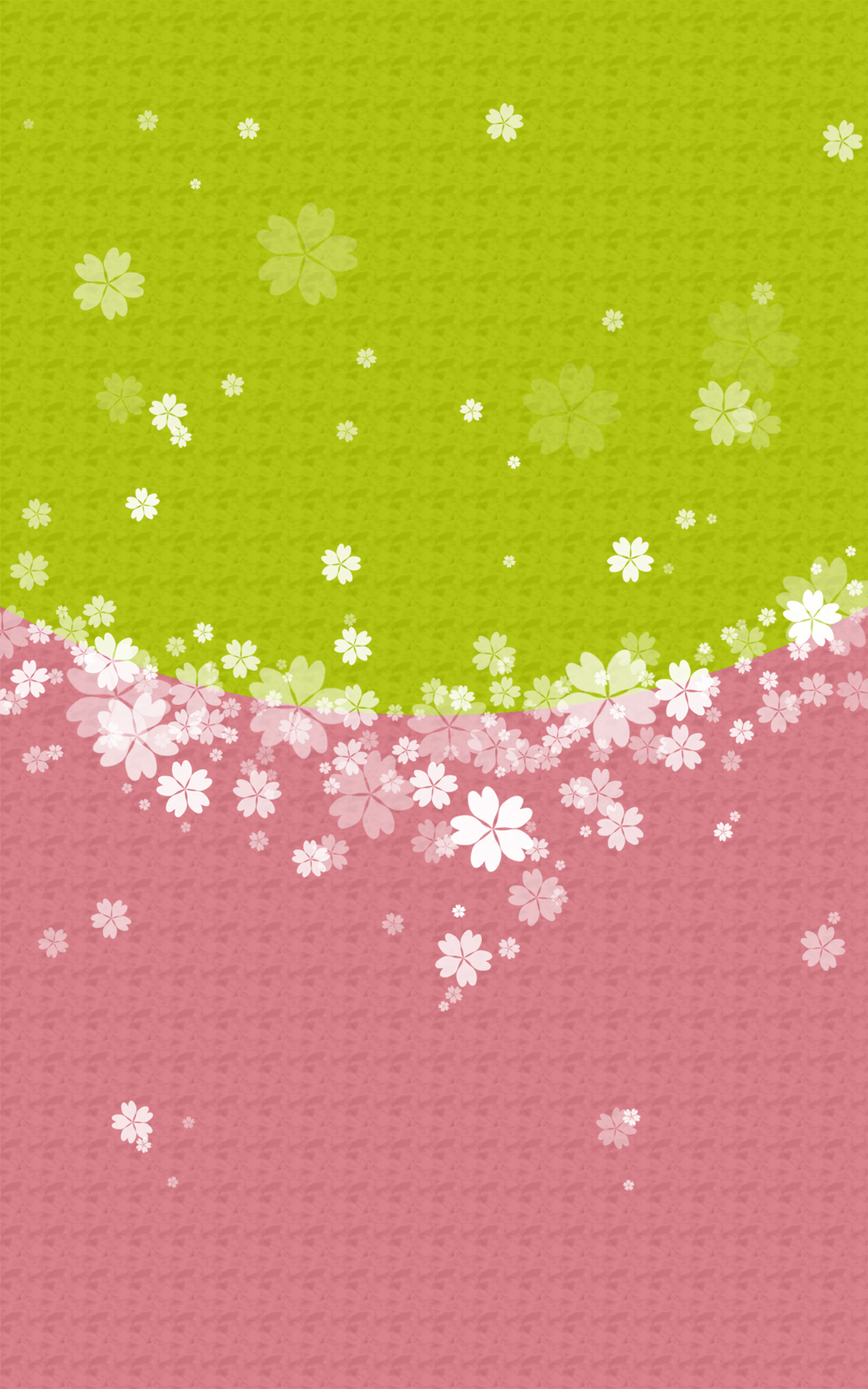 和風のさくら柄の表紙画像(3d)