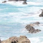 晴れ渡った空と海の写真画像1(P025)