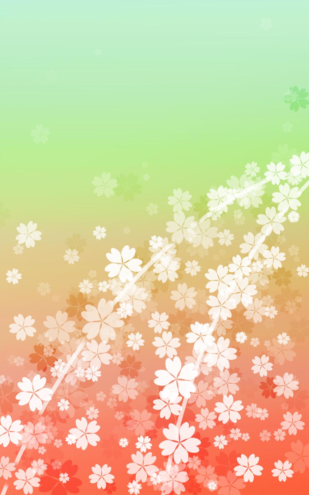 さくらの和風表紙画像(6d)