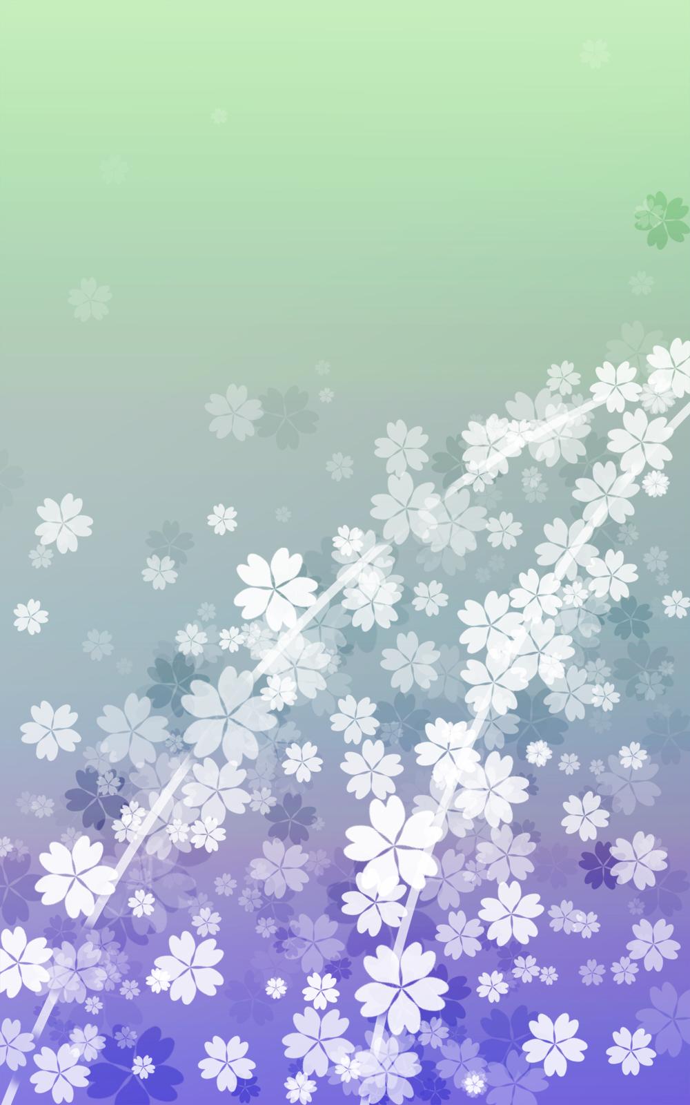 さくらの和風表紙画像(6f)