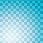 格子柄の和風表紙画像(7a)
