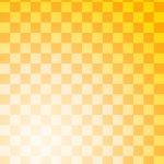 格子柄の和風表紙画像(7d)