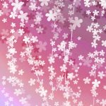 咲きこぼれる花の和風表紙画像(8d)