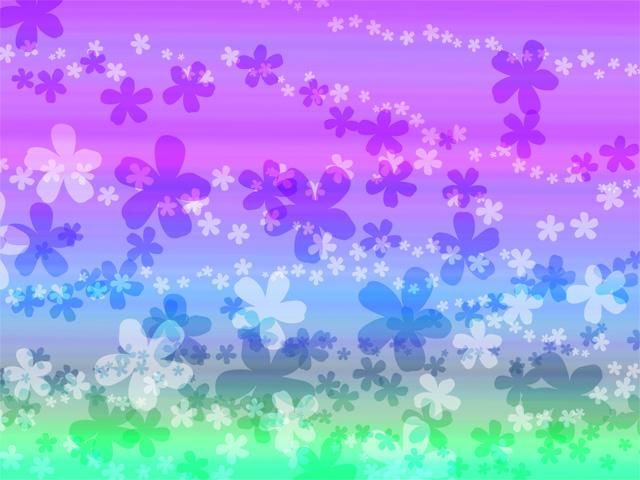 素材109(背景29)花柄の背景画像
