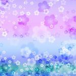幻想的な梅の花の和風表紙画像(9a)