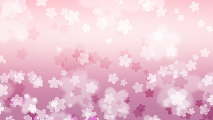 さくらの花の和風表紙画像(10a)