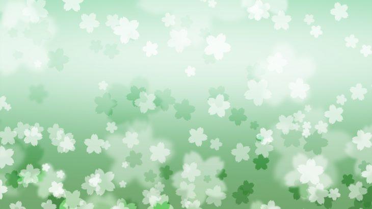 さくらの花の和風表紙画像(10d)
